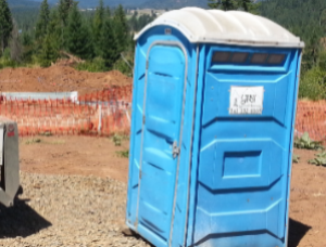 Long Term Port Potty for Constuction Sites